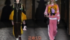 Спортивная стилистика в моделях Gucci  2019 года