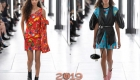 Платья Louis Vuitton весна-лето 2019