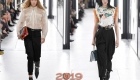 Брюки Louis Vuitton весна-лето 2019