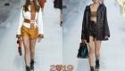 Короткие шорты Hermes весна-лето 2019