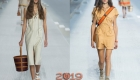 Модные образы показа Hermes весна-лето 2019 в Париже