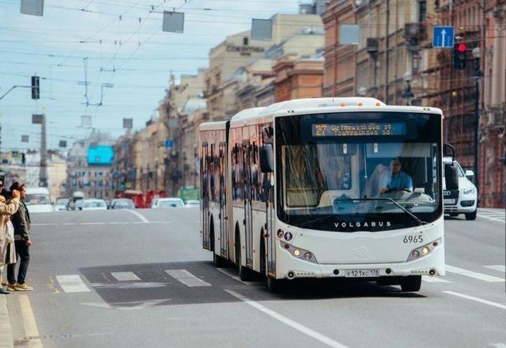 Автобус в Санкт-Петербурге
