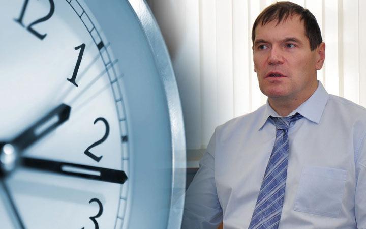 Барышев предложил в 2019 году вернуть в России перевод часов