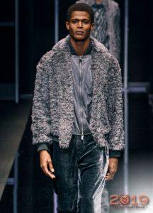 Легкая меховая куртка осень-зима 2019-2020