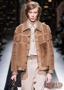 Мужская мода куртка из меха осень-зима 2019-2020