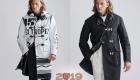 Модные полупальто мужская мода осень-зима 2019-2020