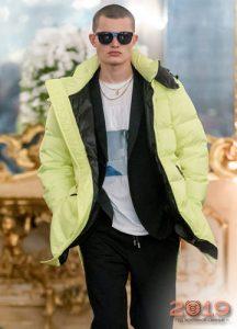 Яркие куртки мужская мода сезона осень-зима 2019-2020