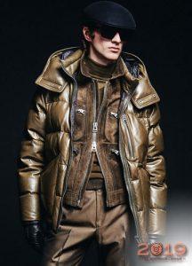 Блестящие мужские куртки сезона осень-зима 2019-2020