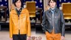 Короткие кожаные куртки сезона  осень-зима 2019-2020