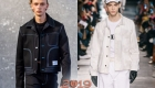 Стильный деним  мужская мода осень-зима 2019-2020