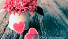 Нежная открытка для девушки на День св. Валентина