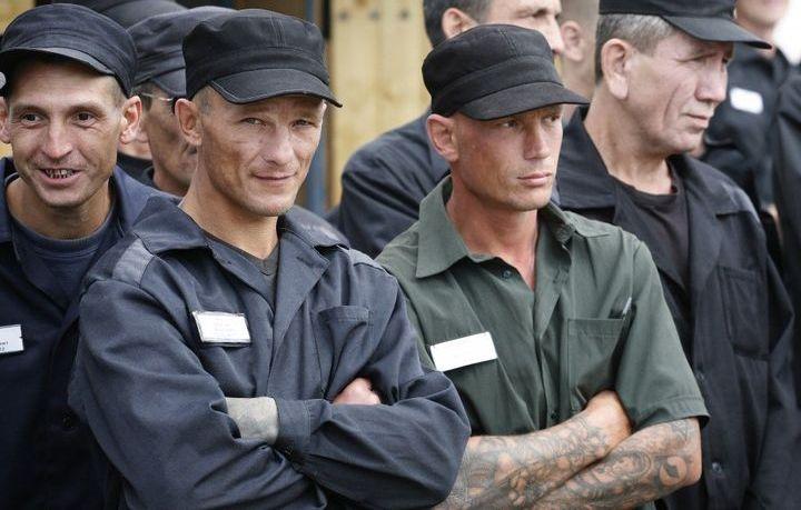 Заключенные на принудительных работах