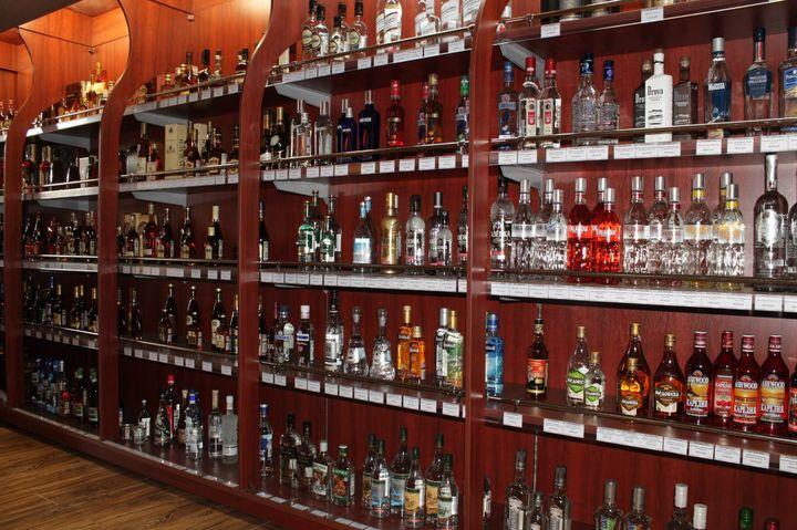 Продажа алкоголя в РФ