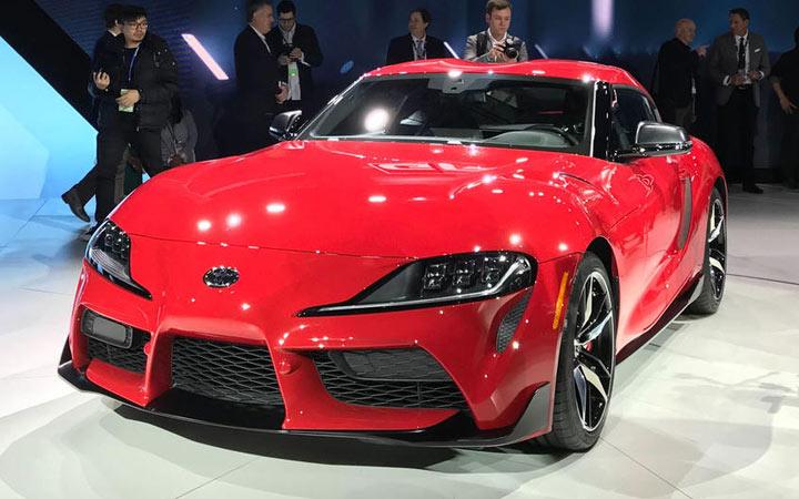 Презентация новой Toyota Supra 2019 года