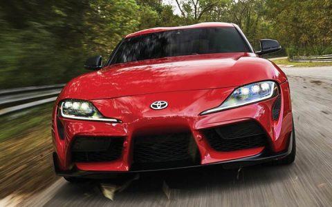 Оптика Toyota Supra 2019 год