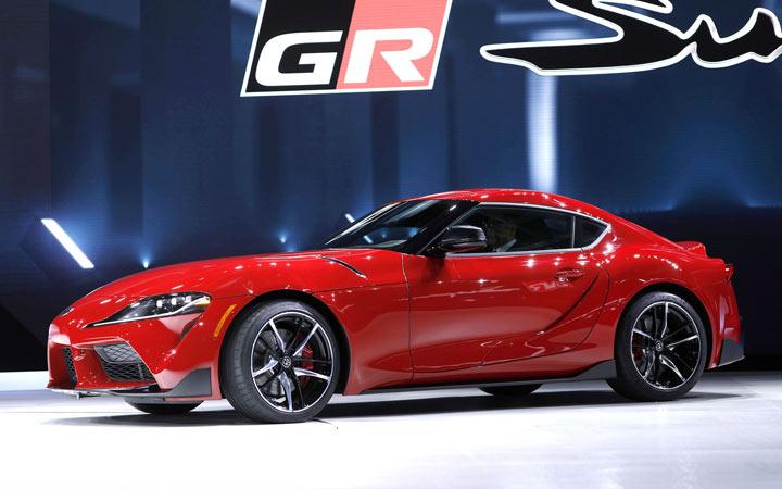 Новый дизайн Toyota Supra 2019 год