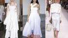 Модное белое платье на лето 2019 года