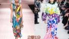 Модные принты платьев весна-лето 2019