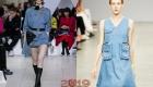 Модное джинсовое платье весна-лето 2019