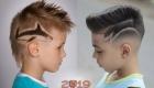 Модные выстриженные узоры мальчикам в 2019 году
