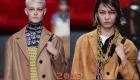 Прически моделей Прада весна-лето 2019