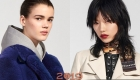 Прически моделей Луи Виттон весна-лето 2019