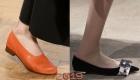 Туфли без каблука на весну 2019