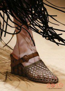Сетчатые туфли 2019 года