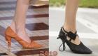 Туфли со складками весна 2019