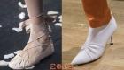 Туфли в складку мода 2019 года