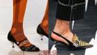 Туфли с каблуком рюмка весна 2019