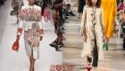 Принты весна-лето 2019 женские пальто
