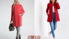 Модное весеннее пальто 2019 года