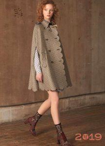 Кейп - модная альтернатива пальто весной 2019 года