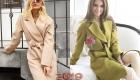 Модное пальто без пуговиц на весну 2019 года