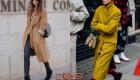 Стильные модели пальто под пояс на весну 2019