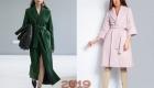 Лучшие модели пальто сезона весна-лето 2019