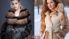 Модное пальто с меховым воротником на весну 2019 года