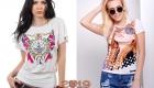 Модные принты на футболках весна-лето 2019