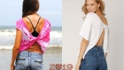 Модные футболки 2019 года с открытой спиной