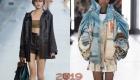 Модные расцветки и модели курток на весну 2019 года
