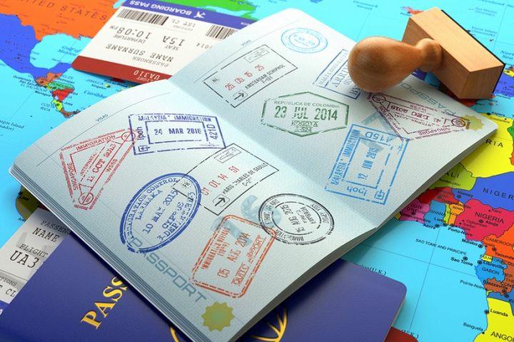 Виза в загранпаспорте