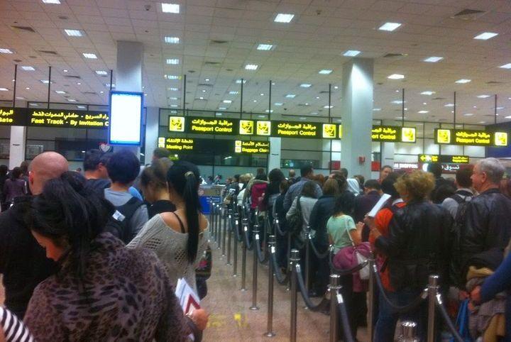 Паспортный контроль Дубай