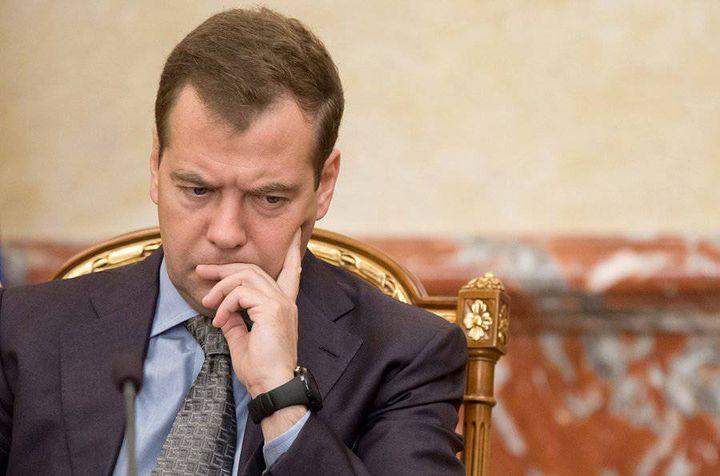 Дмитрий Медведев думает