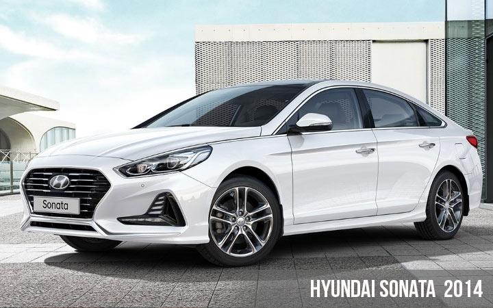 7 поколение Hyundai Sonata 2014 года