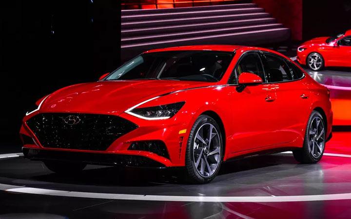 Экстерьер Hyundai Sonata 2019 года