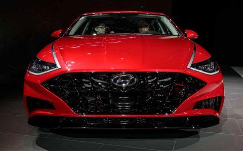 Новый облик Hyundai Sonata 2019 года