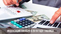 Индексация пособий в России в 2019 году