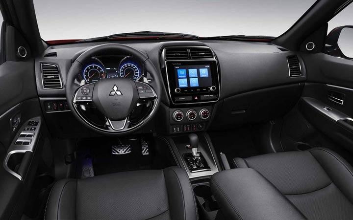 Интерьер Mitsubishi ASX 2019
