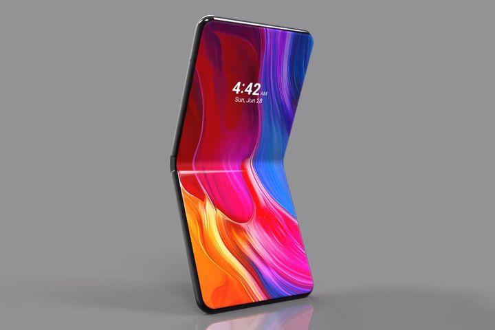 Гибкий смартфон Mi Flex